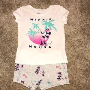 Minnie palm tree outfit